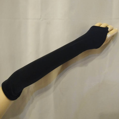 Gloves - Long Velvet Pointe Glovelettes