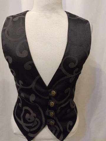 The VM Ladies Waistcoat-[Canadian]-[Handmade]-[Alternative Fashion]-Venus & Mars Clothing