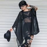 The VM Sheer Tunic-[Canadian]-[Handmade]-[Alternative Fashion]-Venus & Mars Clothing