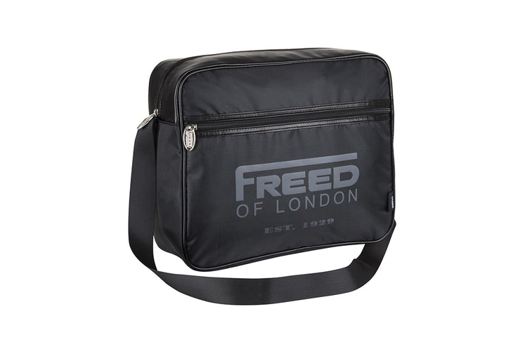Freed Black Messenger Bag