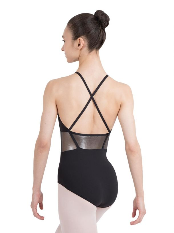 Capezio High Neck X Back Leotard