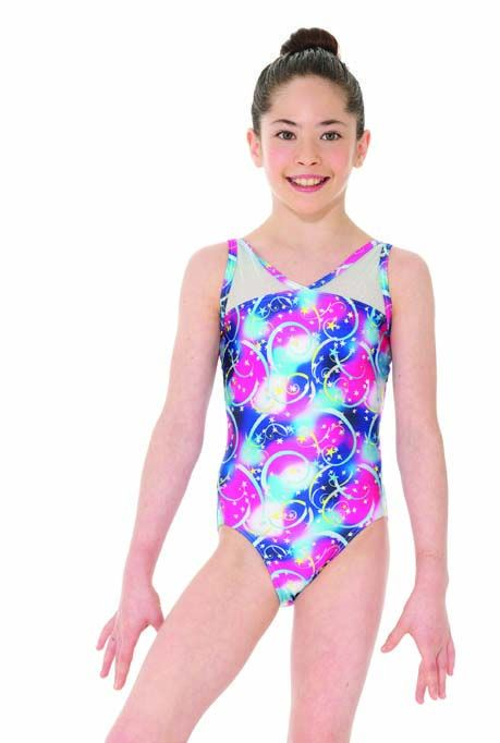 Mondor Perseids Sleeveless Gymnastics Leotard