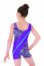 Mondor Comic Sleeveless Gymnastic Leotard