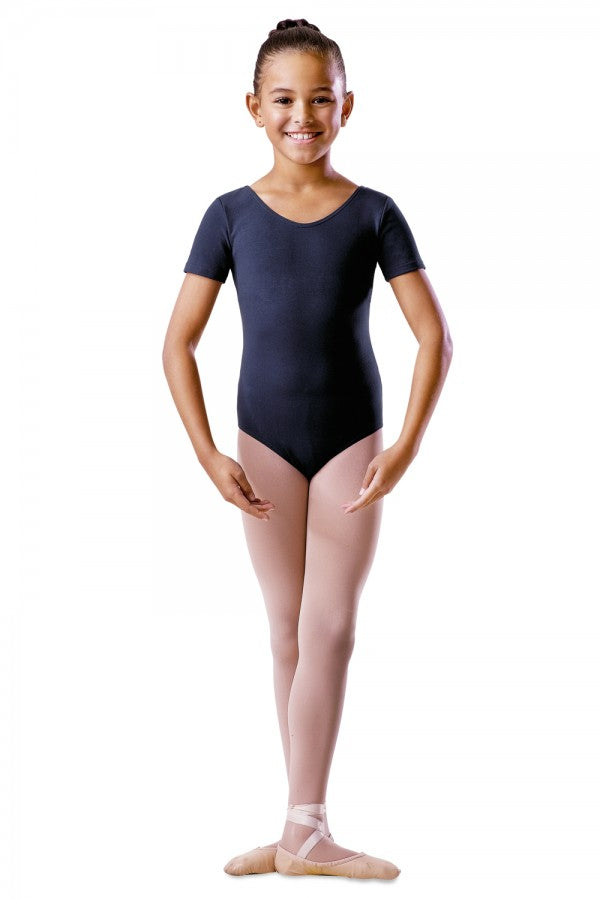 Bloch Short Sleeve Round Neck Leotard