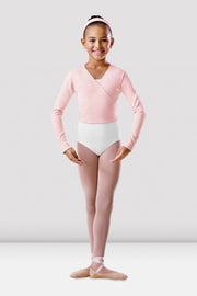 Bloch Cotton Long Sleeve Wrap Cardigan