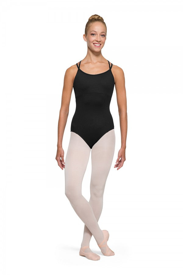 Bloch Alexis Double X strap Back Camisole Leotard