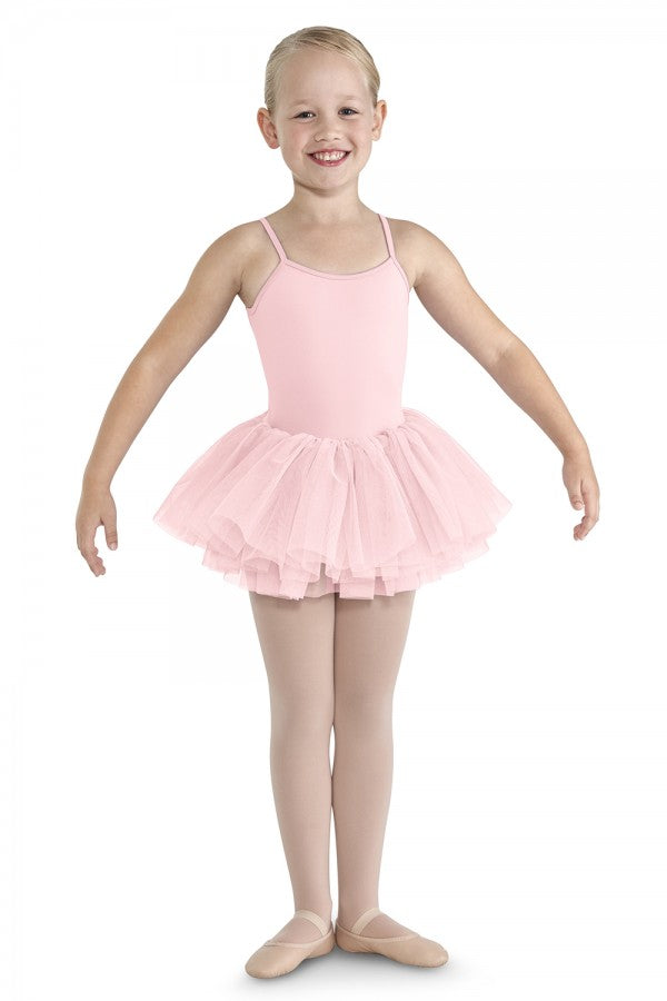 Bloch Gathered Lace Camisole Tutu Leotard