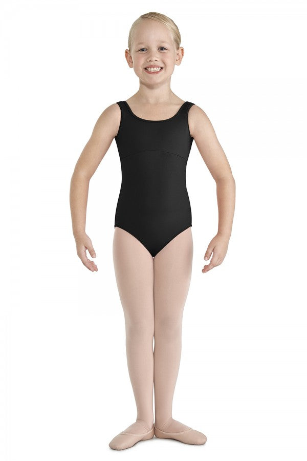 Bloch Gathered Lacce Tank Leotard