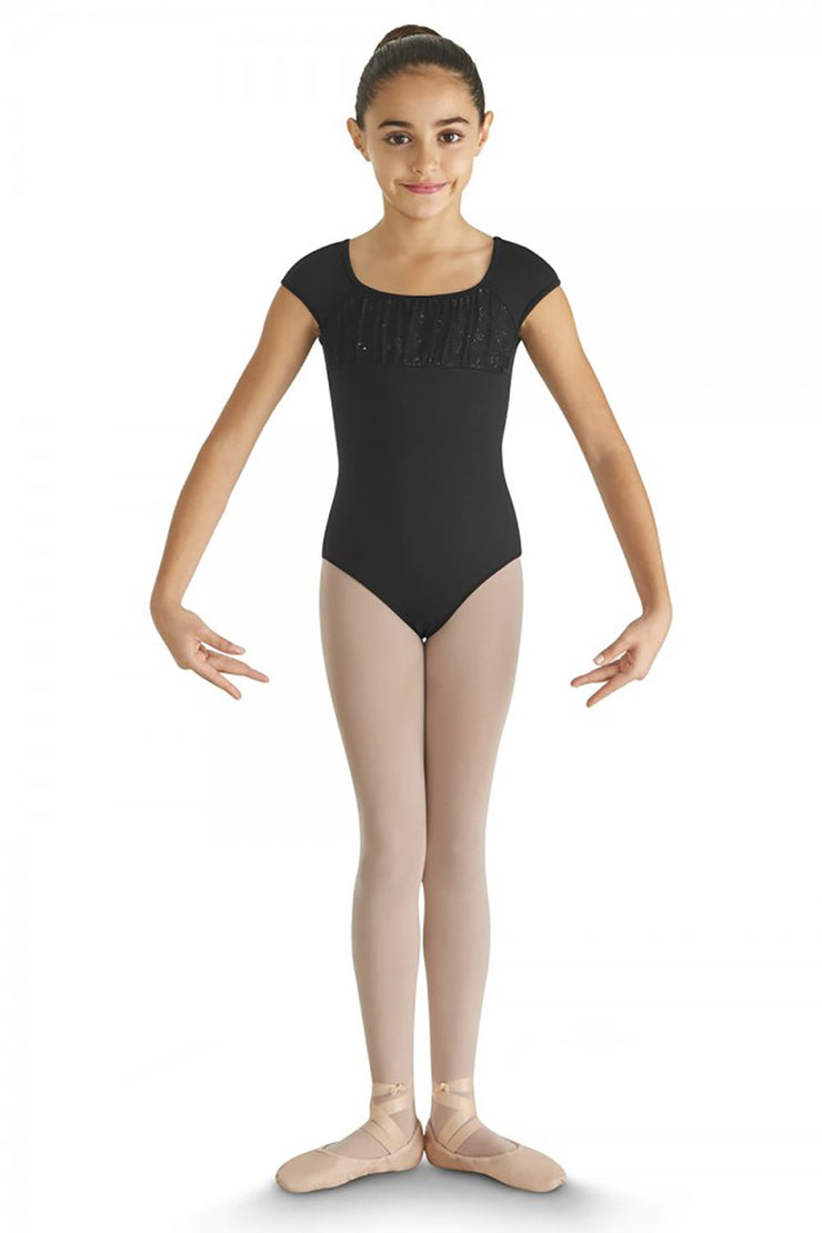 Bloch Glitter Bow Camisole Leotard
