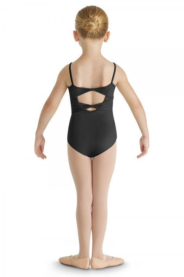 Bloch Studded Scallop Back Tank Leotard