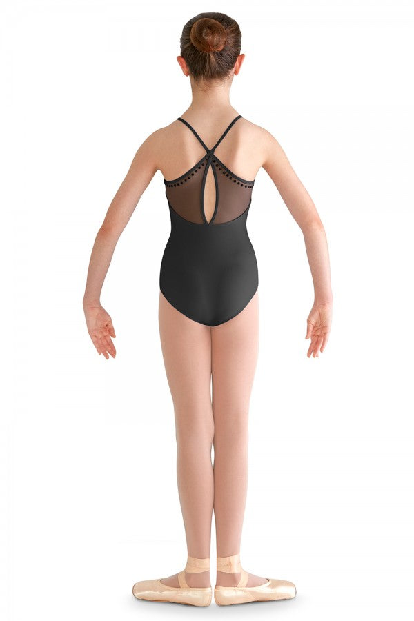 Bloch Studed X Back Camisole Leotard