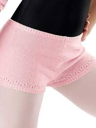 Capezio Knit Pointelle Short
