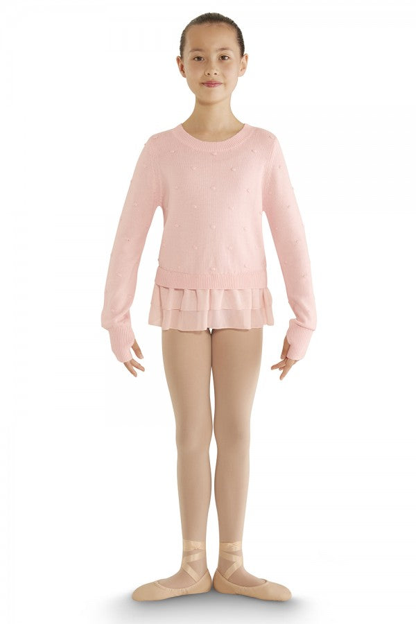 Bloch Bubbleknit Ruffle Hem Sweater