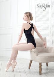 Grishko Dotty X Back Leotard