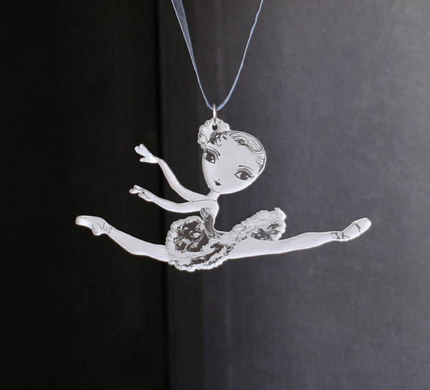 Ballet Papier Jete Small Hanging Ornament