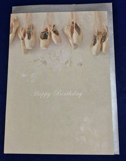 Happy Birthday Hand Finished card