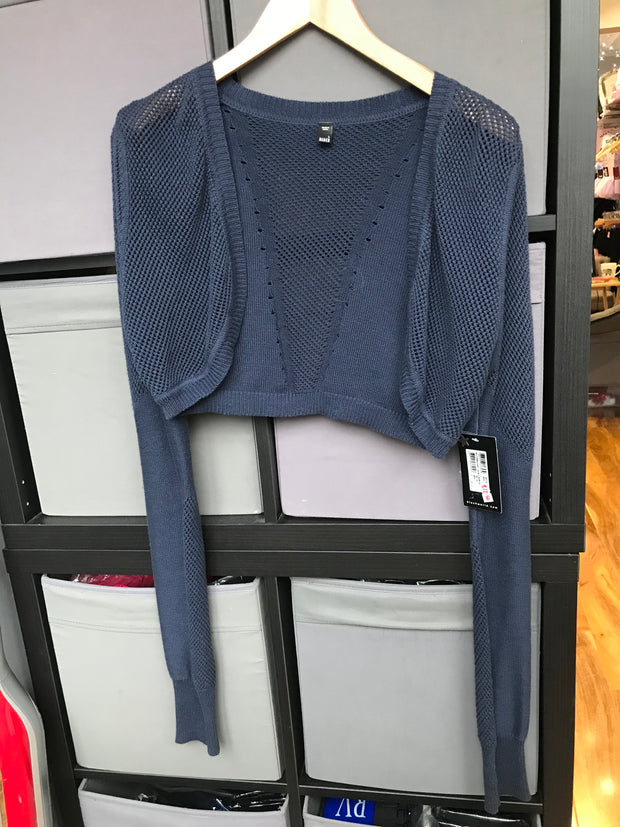 Bloch Open Knit Shrug