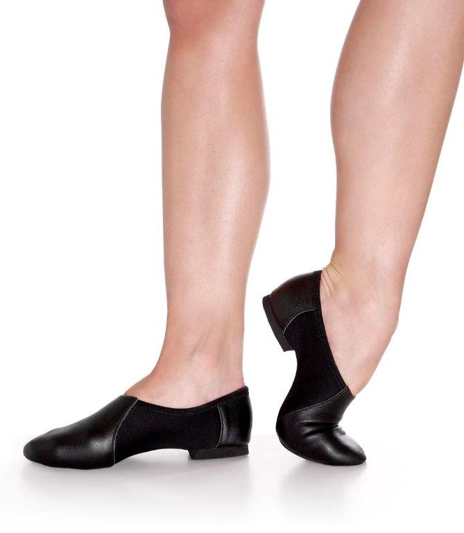 So Danca Leather Split Sole Jazz Shoe