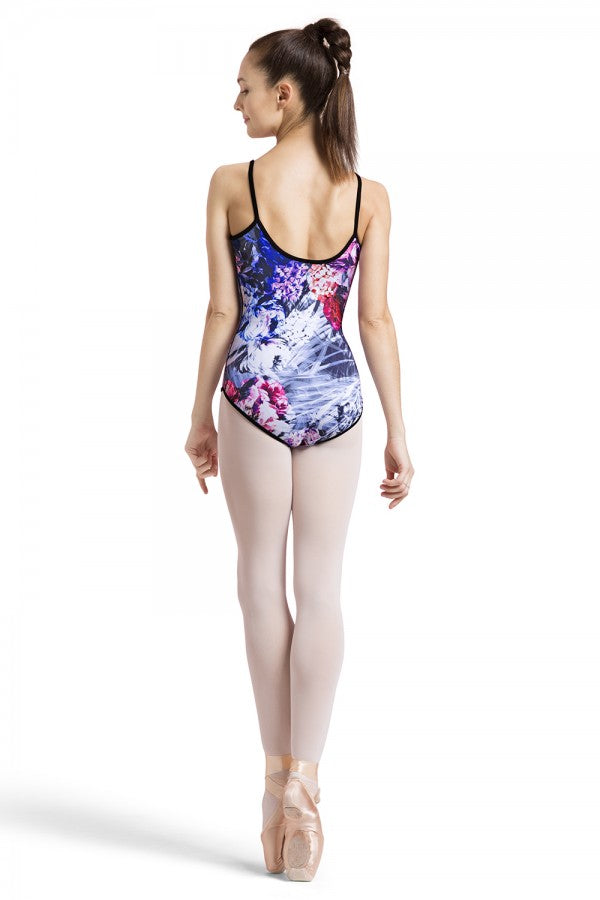 Bloch Reversible Peony Print Camisole Leotard