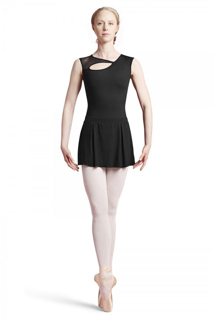 Bloch Studded Back Cao Sleeve Leotard