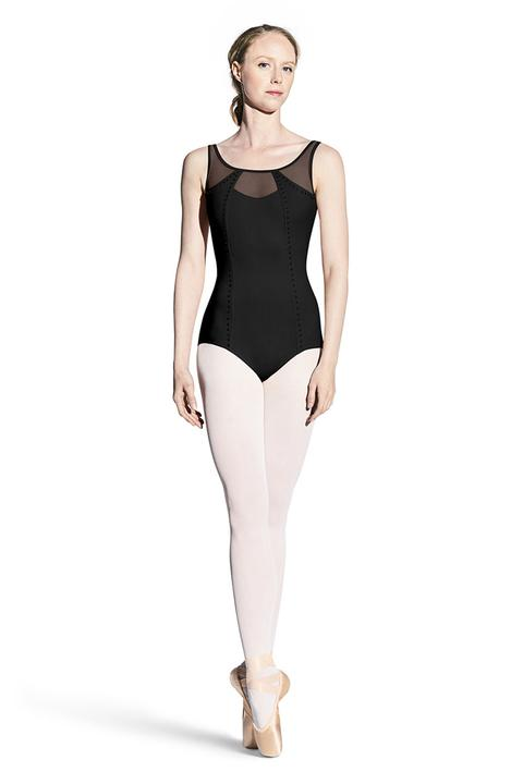 Bloch Studded Panel Front Tank Leotard