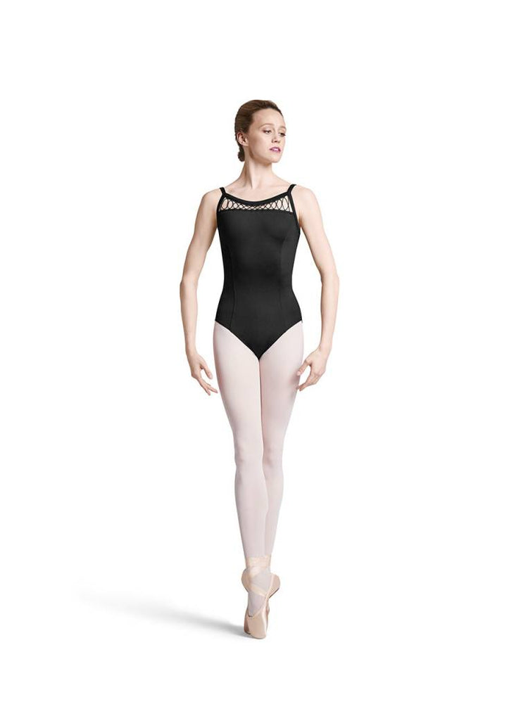 Bloch Loop Tape & Cord Front Yoke Leotard