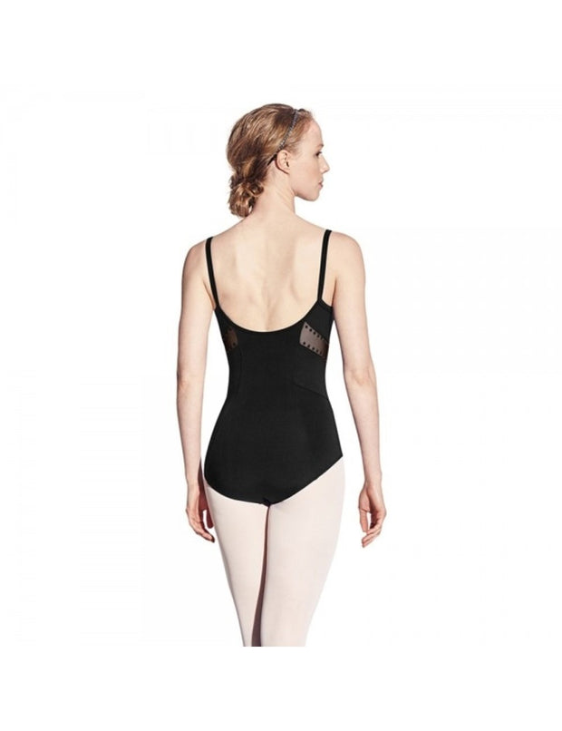 Bloch Studded Side Panel Camisole Leotard