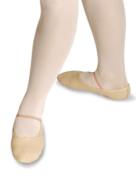 Roch Valley Black Wide Fit Ballet Shoes