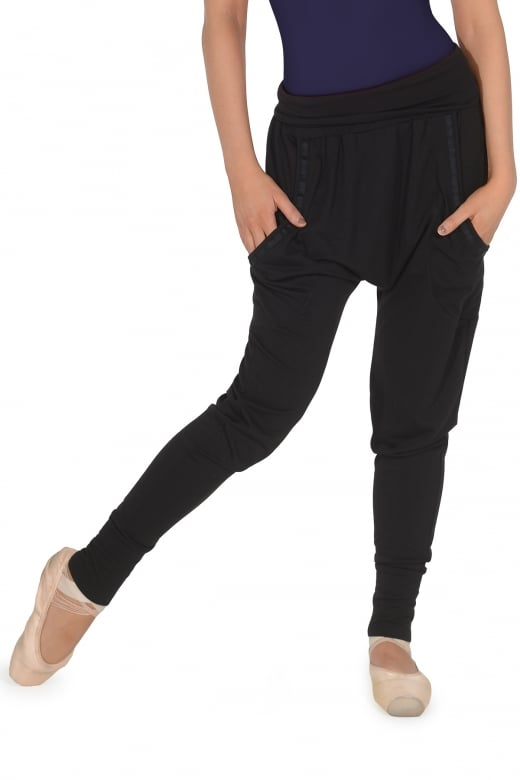 Bloch Elastic Tape Packet Harem Pant