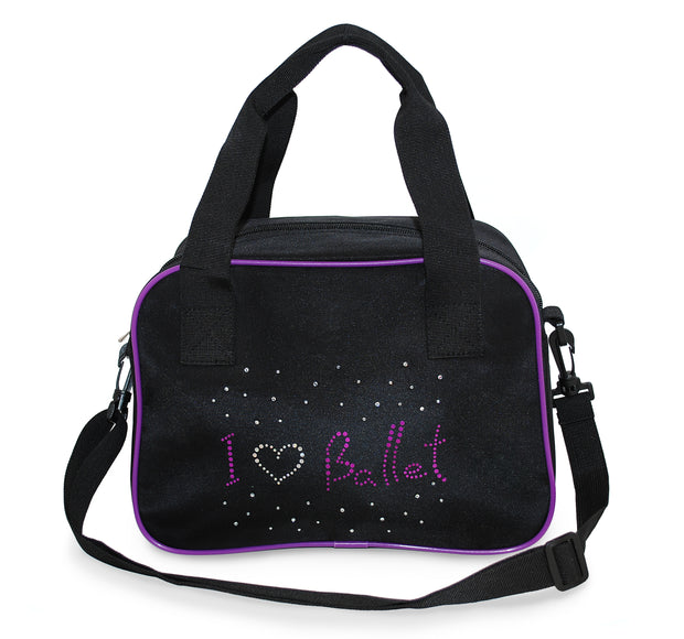 Roch Valley I love Ballet Bag with handles and detachable strap