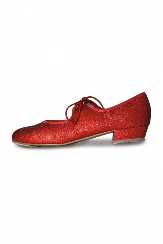 Roch Valley Dorothy Red Sparkly  Tap Shoe