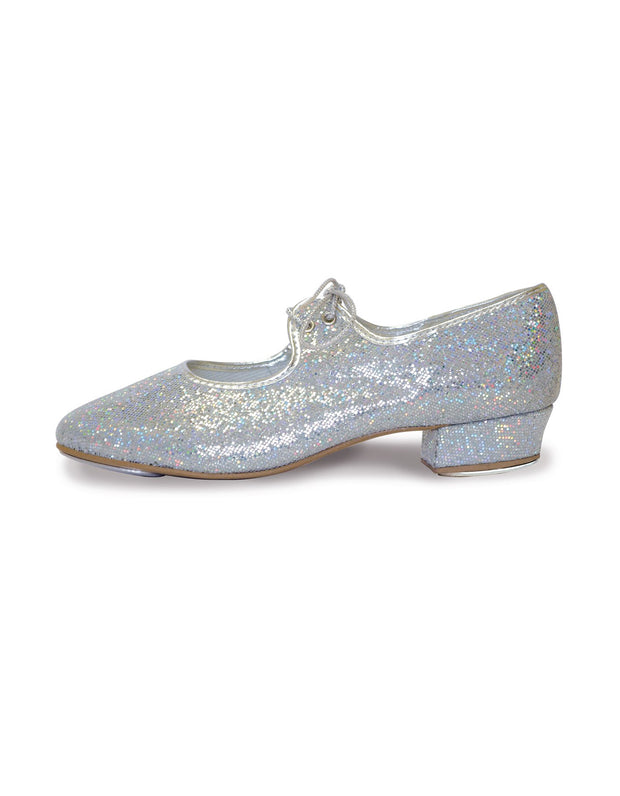 Roch Valley Silver Sparkly  Tap Shoe