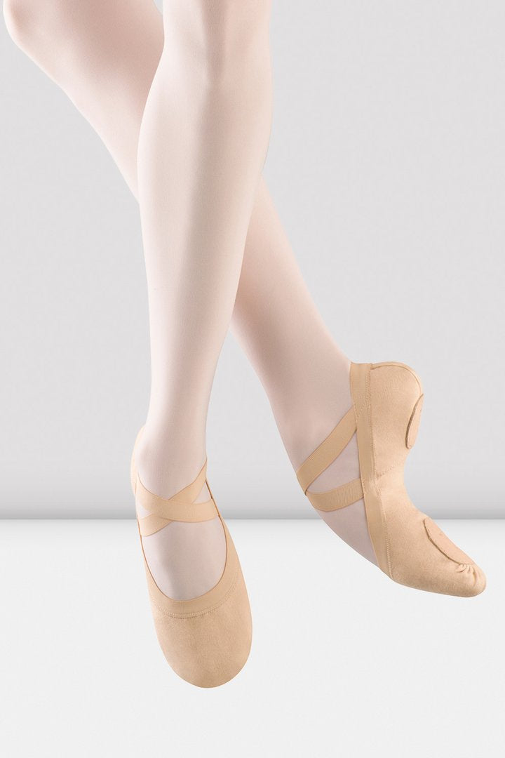 Bloch Pro Elastics Split Sole Canvas Ballet Shoe
