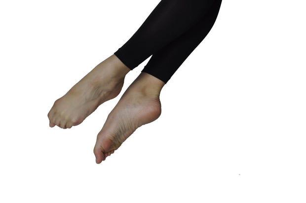 Tendu Black Footless Tights