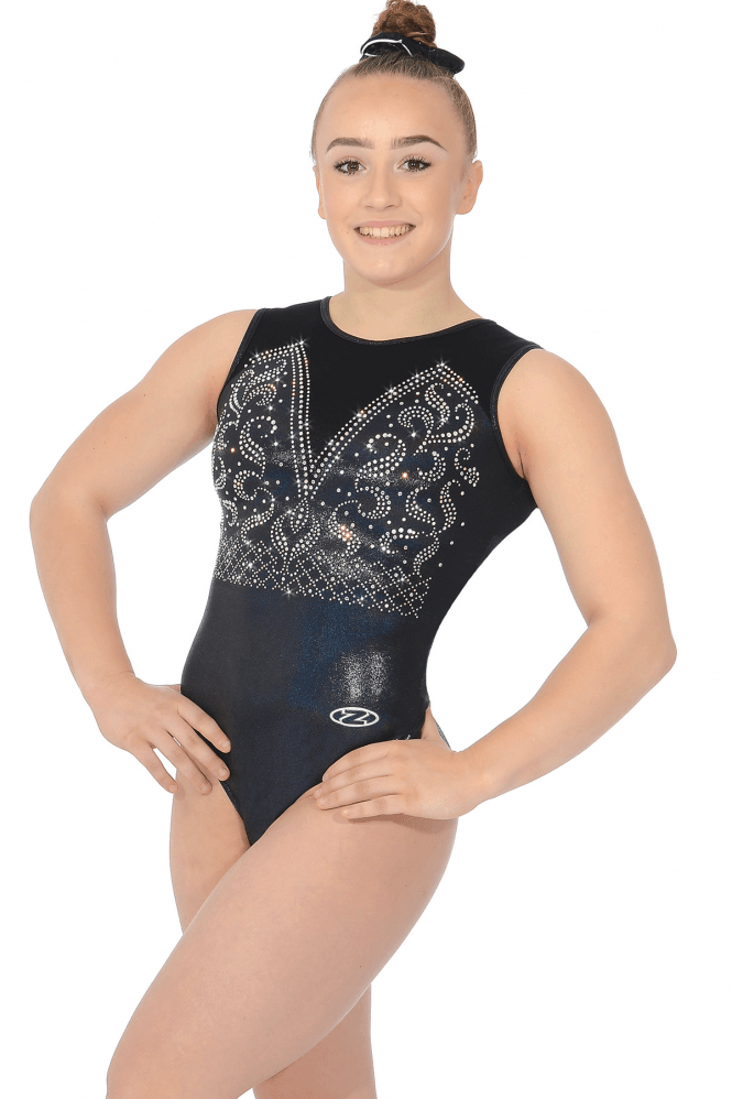 The Zone Annabel Sleeveless Gymnastics Leotard