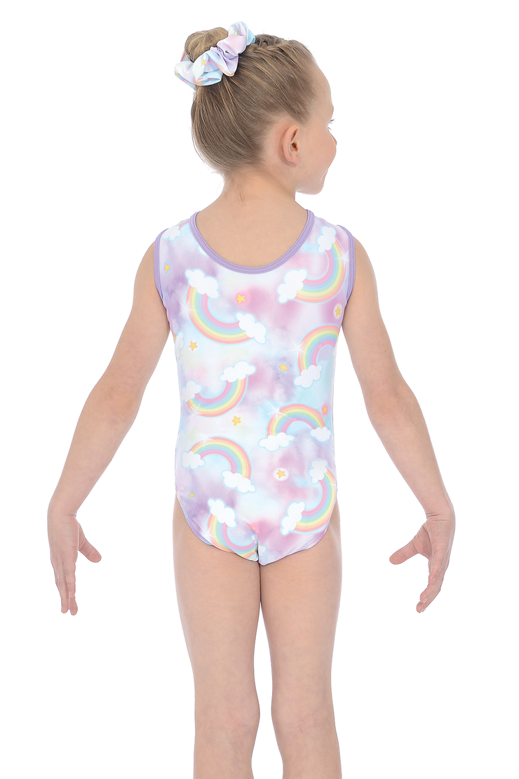 The Zone Rainbow Gymnastics Leotard