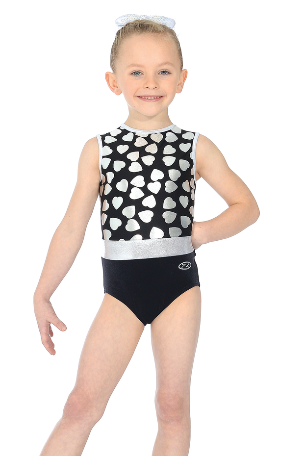 The Zone Heartbeat Gymnastics Leotard