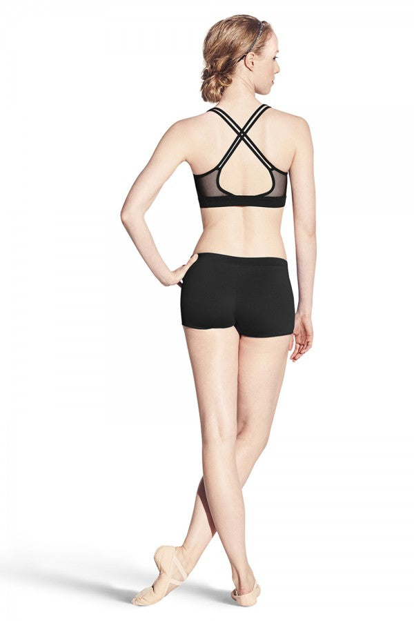 Bloch Mesh Panel Twin Strap Crop Top