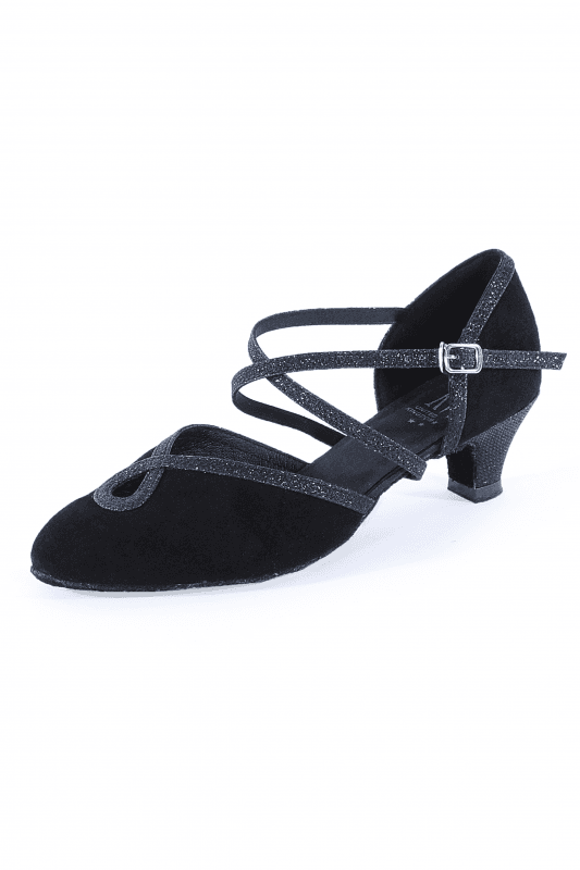 Roch Valley Anna X Strap Closed Toe Ballroom Shoe