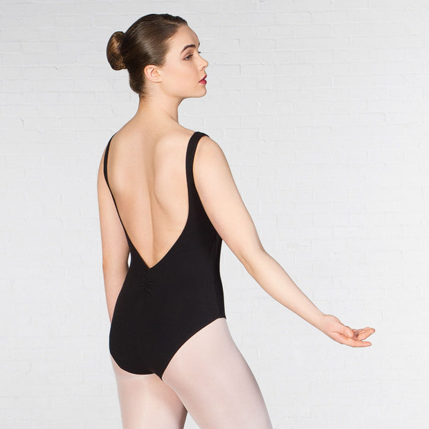 1st Position Francesca Tank Low Back Leotard