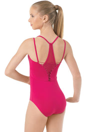 Bloch Loop Tape & Cord Back Racer Leotards