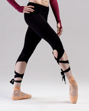 So Danca Ribbon Tie Leggings