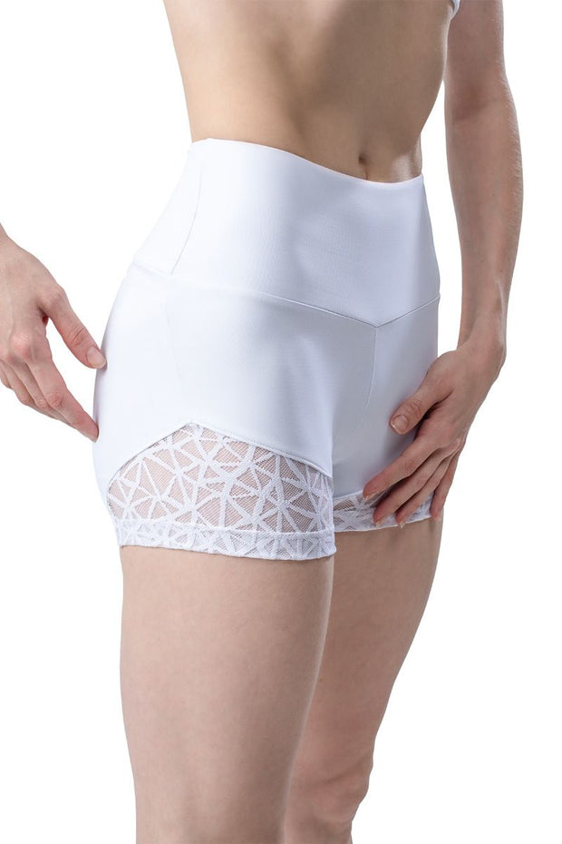 So Danca x Sarah Mearns Lace Bottom Shorts