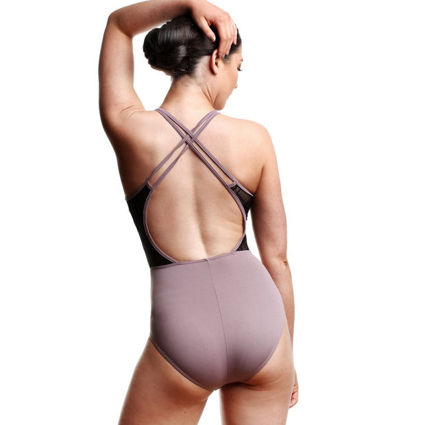Children's So Danca L-1861 Camisole Twin X Strap Leotard
