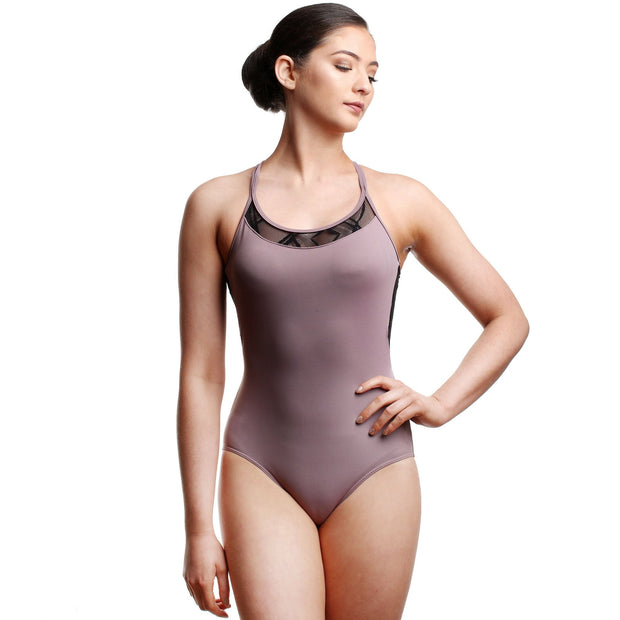 So Danca RDE-1956 Camisole Twin X Strap Leotard