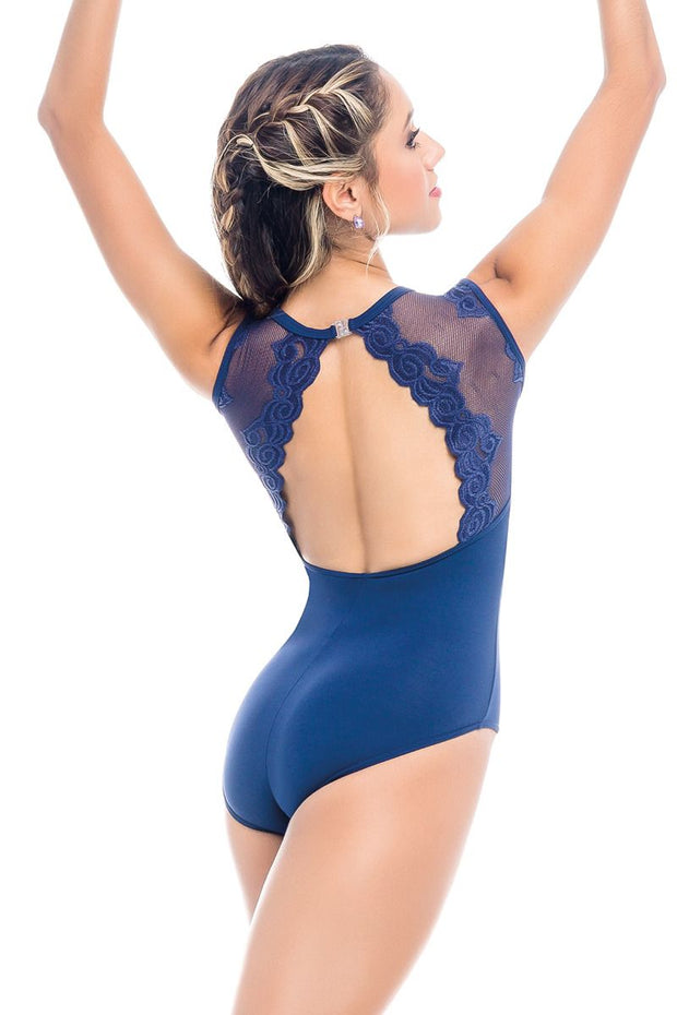 So Danca Ivonne Lace Tank Leotard