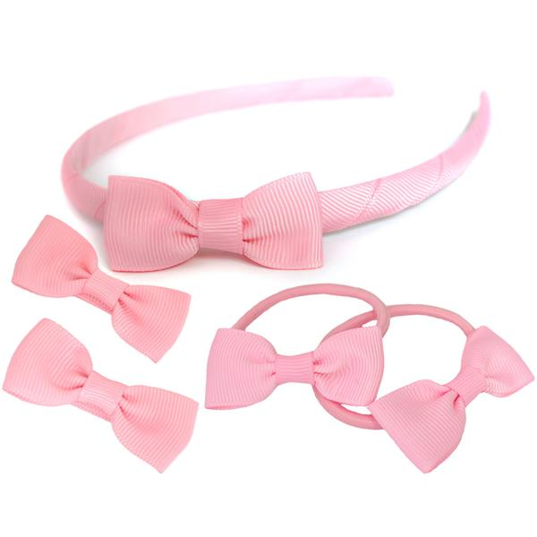 Candy Bows School Hair Set