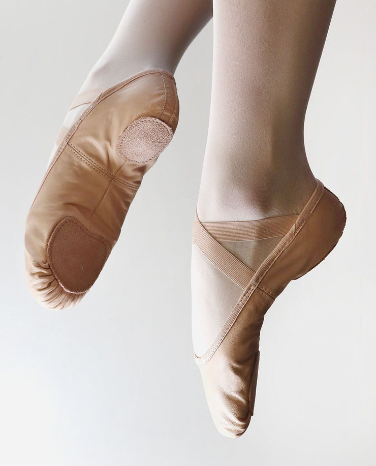 So Danca SD60 Leather Split Sole Ballet Shoe