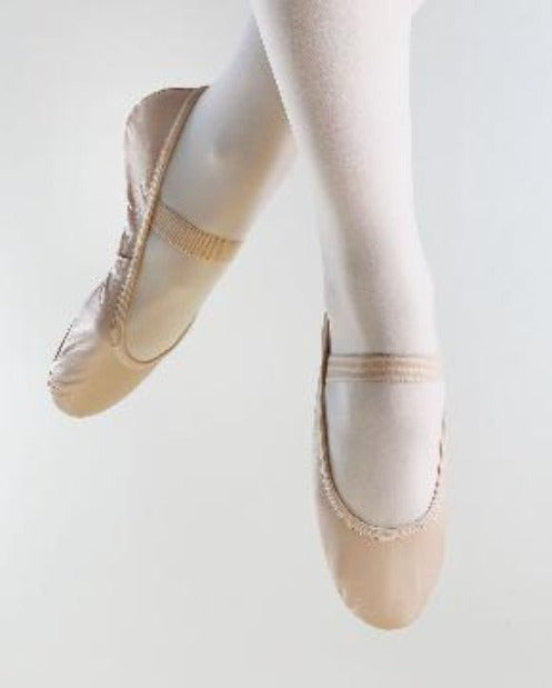 So Danca SD69 Leather Full Sole Ballet Shoe
