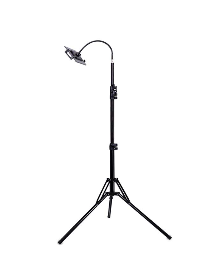 Flexible Head Tripod Black
